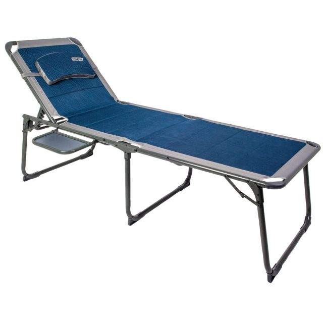 Quest Elite Ragley Pro Lounge Bed with Side Table