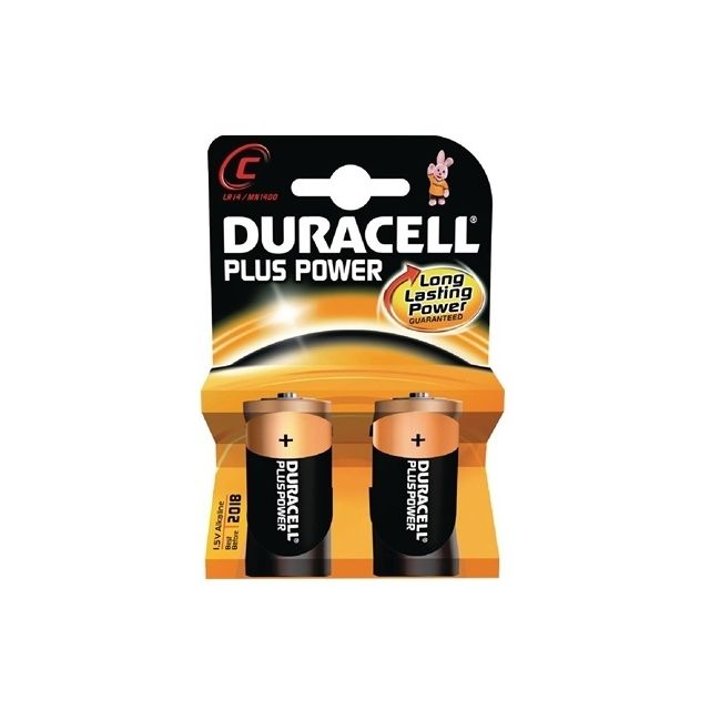 Duracell C Batteries (2 Pack)