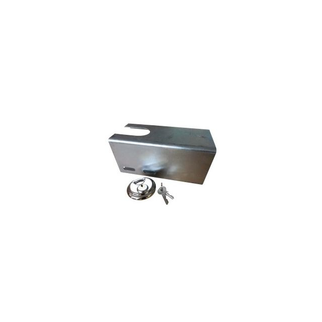 Heavy Duty Galvanised Hitch Lock (Steel)
