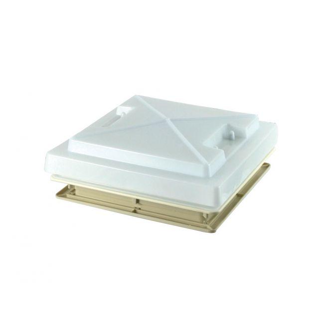 MPK Rooflight Complete 400mm x 400mm Ivory Inc Flynet & Blind