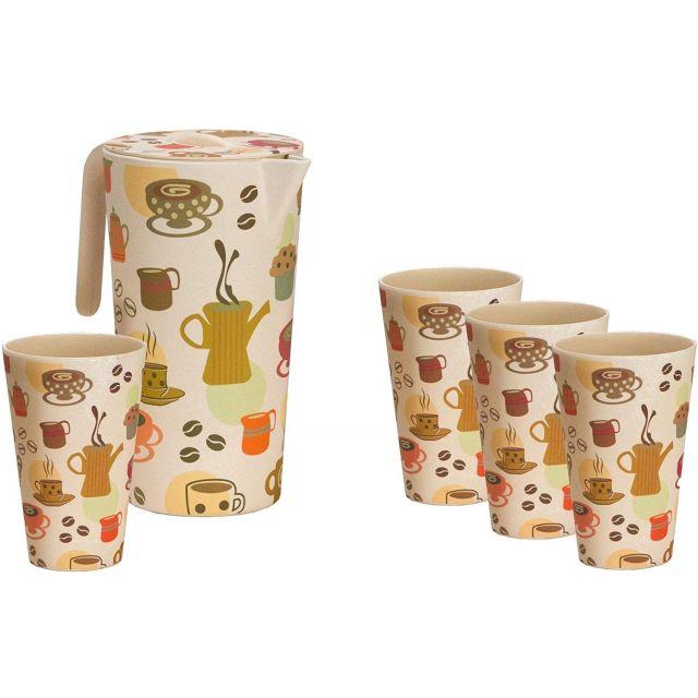 Vango Pitcher & 4 Cups Set