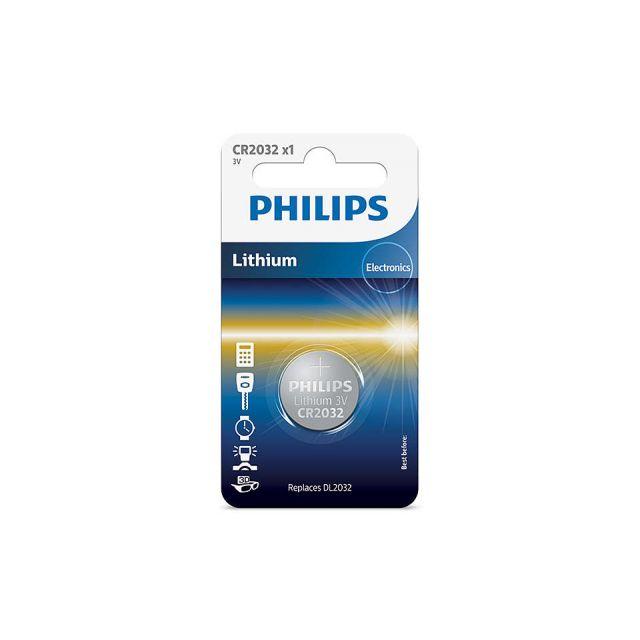 Philips CR2032 Lithium 3v Battery