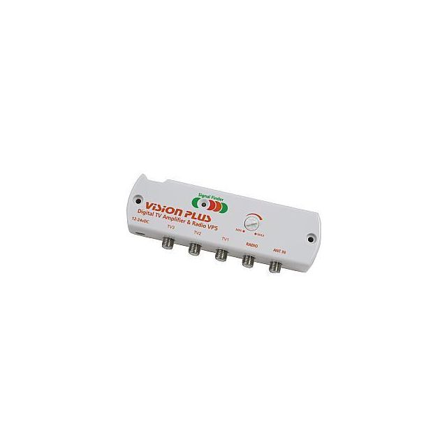 Vision Plus Digital TV & Radio Amplifier with Signal Finder VP5
