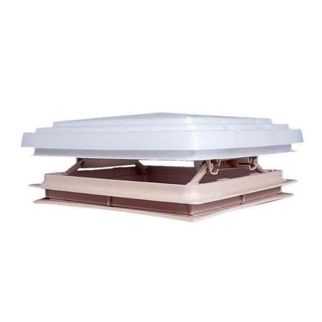MPK Rooflight Complete 400mm x 400mm Beige Inc Flynet & Blind