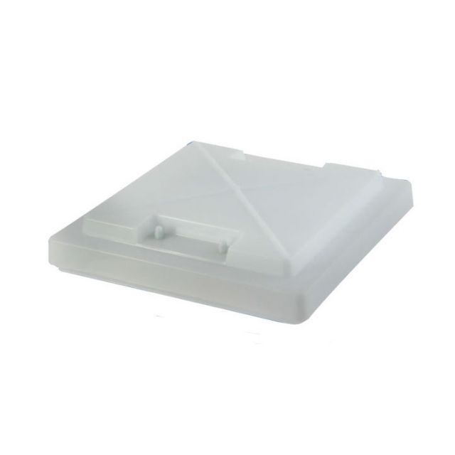 MPK Rooflight Spare Dome with Handles 360mm x 320mm White